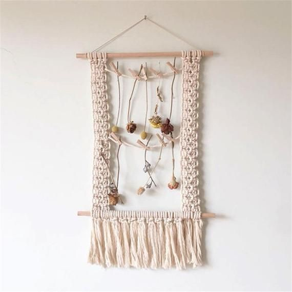 Wall Hanging Macrame Wall Hanging Large Above Bed