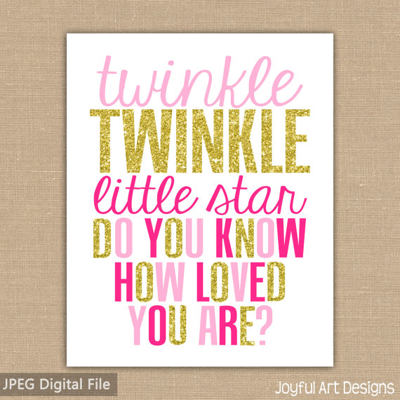 How Do You Replace Bathroom Wall Tile: Twinkle Twinkle Little Star Do You Know How Loved You Are