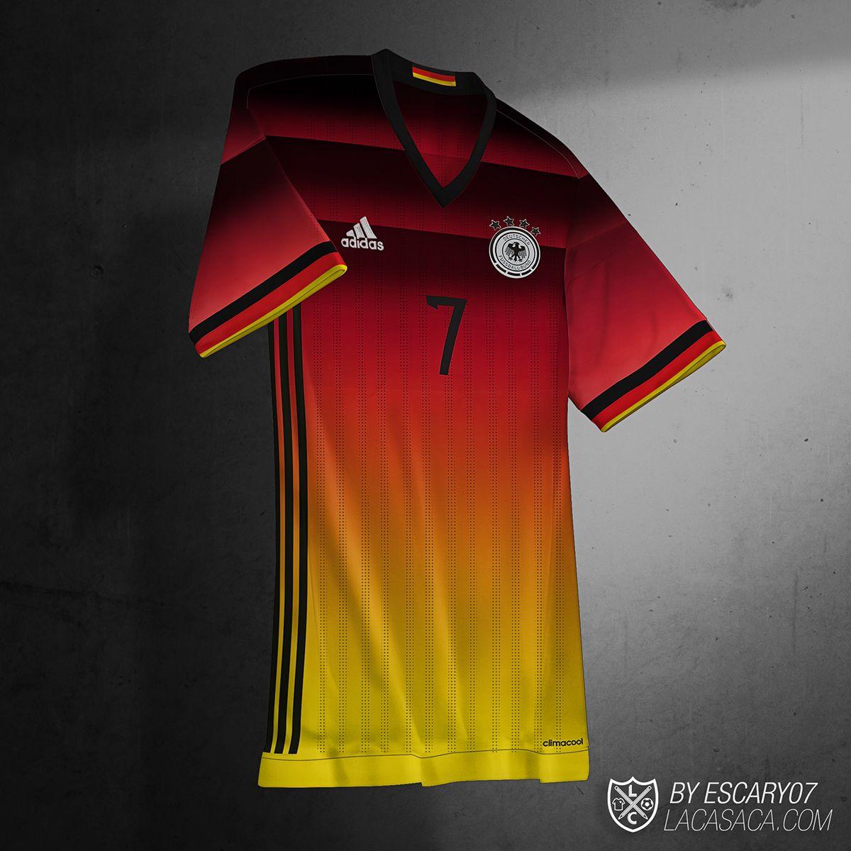 ed0965650e Conceptos de 12 camisetas (third kits)
