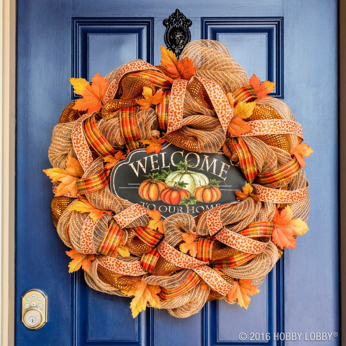 Make your wreath dreams come true with deco mesh! Wreaths - Hobby Lobby Halloween Decorations