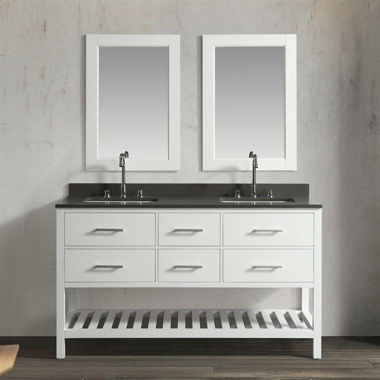 Shop Bathroom Vanities Buy Factory Direct Save On Bathroom Vanity Modern Bathroom With Images Double Sink Vanity Bathroom Sink Vanity Double Sink Bathroom Vanity
