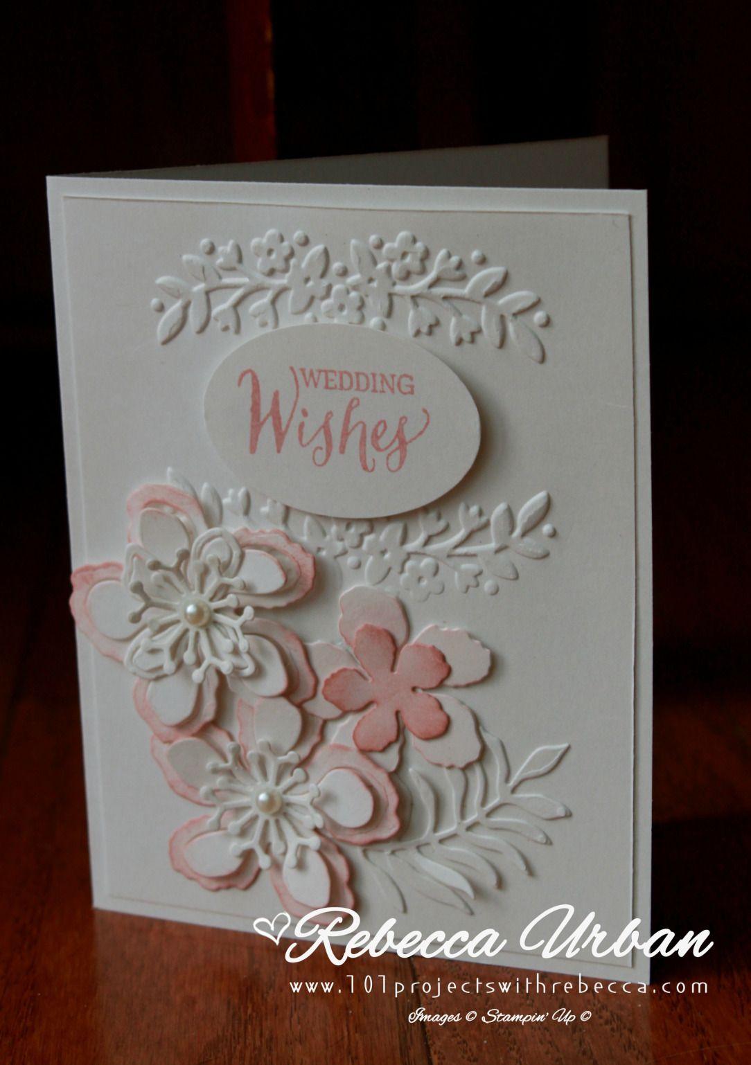 Stampin Up wedding card Stampin Up Botanical