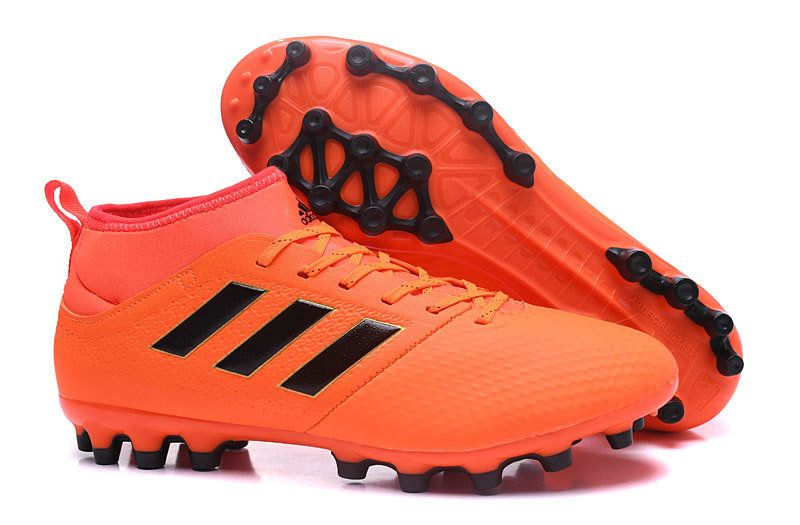 best service 285ac 34eae Mens Adidas ACE 17 3 AG 2018 Word Cup BY2195 Football Boots Solar Orange  Core Black Solar Red