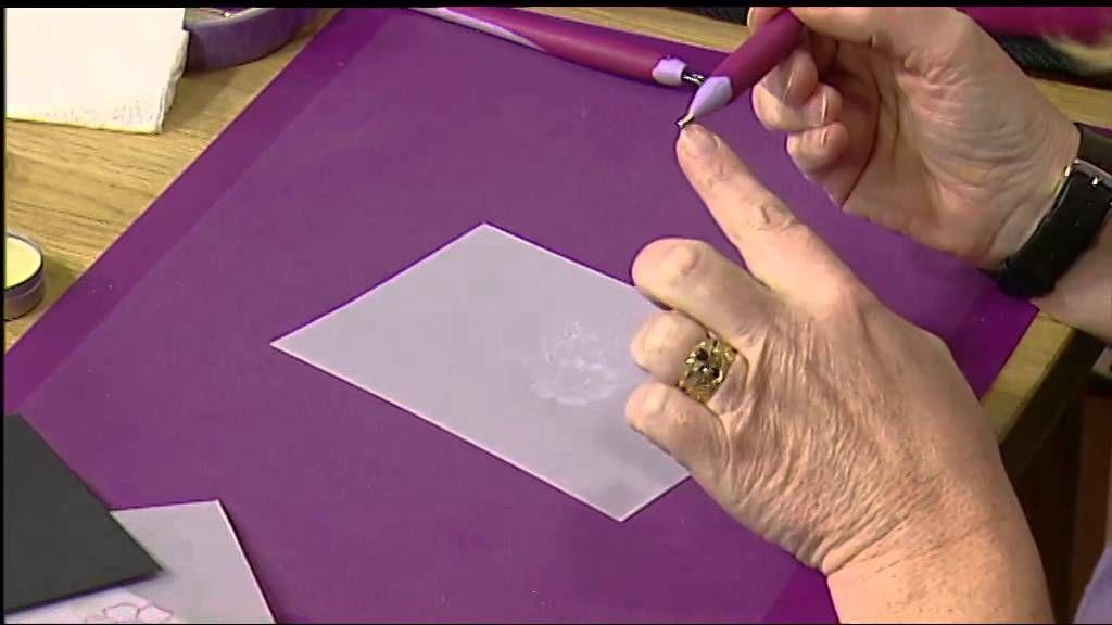 How to with Pergamano - Part 2 | Craft Academy. Seguici su www.hobbisticacreativa@blogspot.com per informazioni in italiano su questa tecnica!