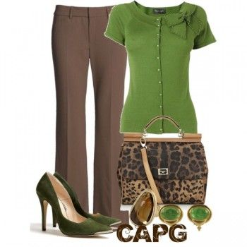 Work Outfit – Earth Tones