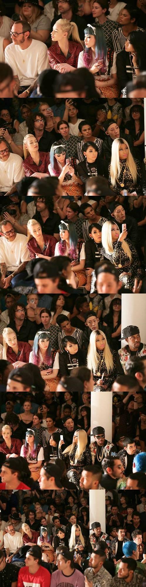 CL (2NE1) & Yanggaeng with Terry Richardson, Iggy Azalea ...