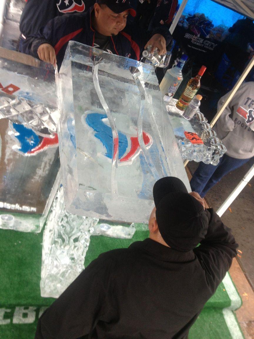 Ice Bar by ShotBlock.com, Houston, Texas