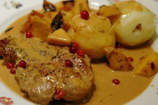 Anne's Food: Apple Pork Chops