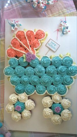 Baby Shower Cupcakes That Are Too Cute To Eat #genderrevealideasforpartydiy
