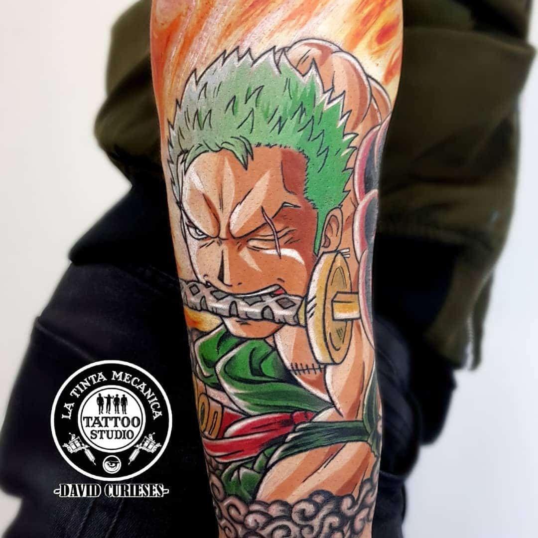 101 Amazing One Piece Tattoo Ideas You Will Love! in 2020   One piece tattoos, Pieces tattoo ...