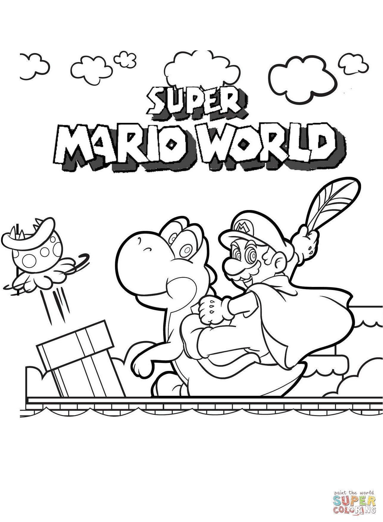 Malvorlagen Kostenlos Mario