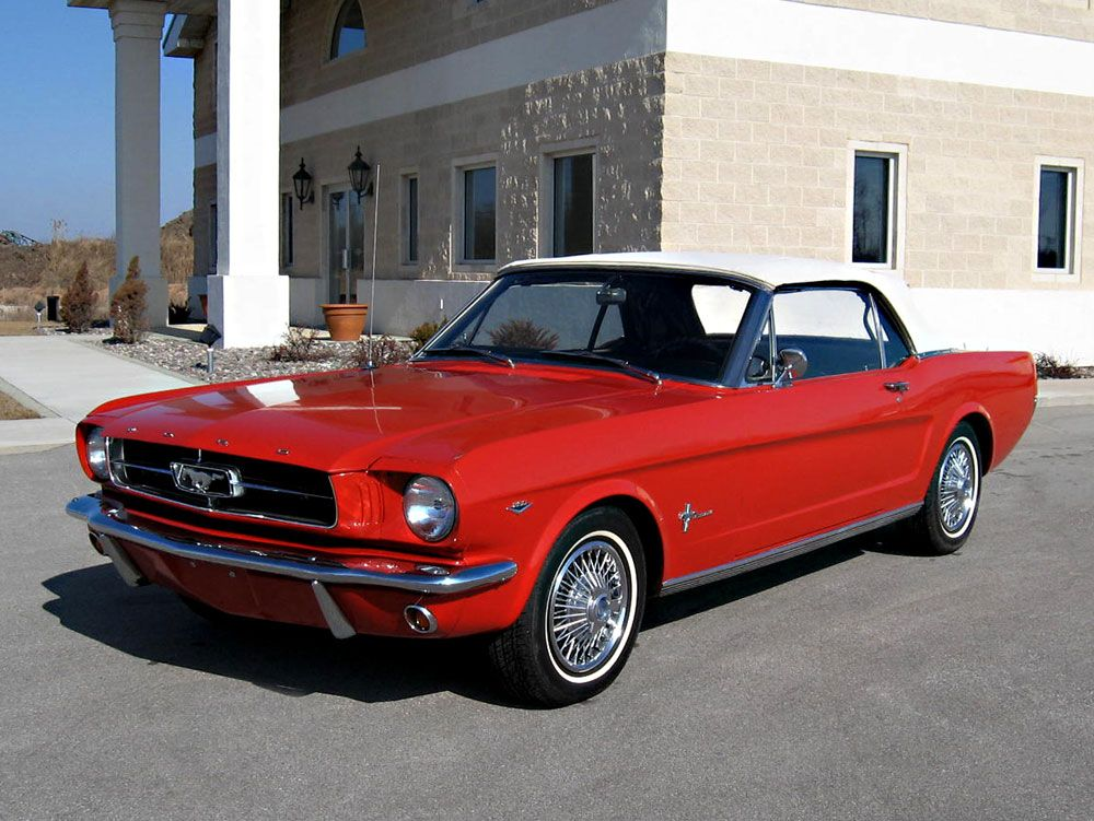 the best year for the mustang in my opinion. the 70s had some ugly ...