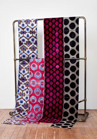 Madeline Weinrib - Velvet Ikat - Fabrics