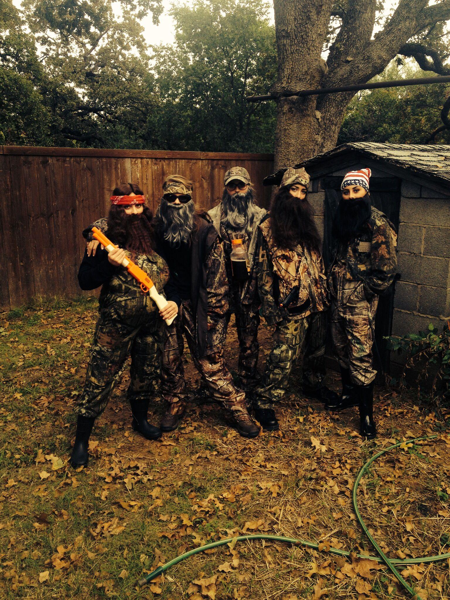 Duck Dynasty Halloween Costume #duckdynasty #halloween | holidays ...