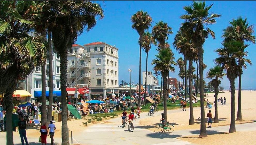 Venice Beach Is A Beautiful And As One Of The Commercial Recreational Areas With Views Wonderful Beaches This Loc
