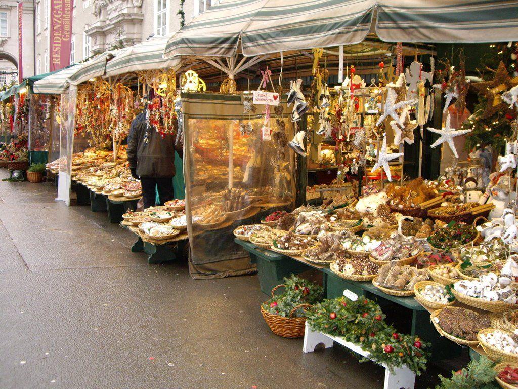 Salzburg Austria Christmas Market Travel 2017 Trip In