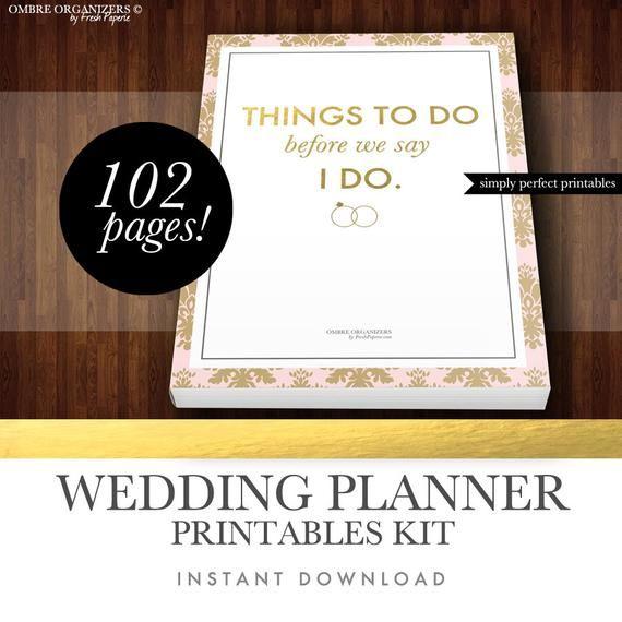 PDF Digital Printables For Planning