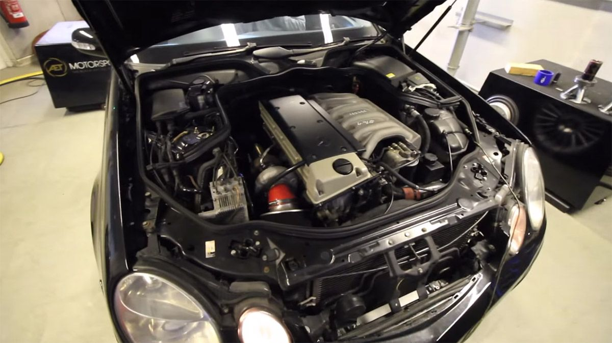 Mercedes W211 with a OM606 | Mercedes-Benz Engines | Mercedes w211
