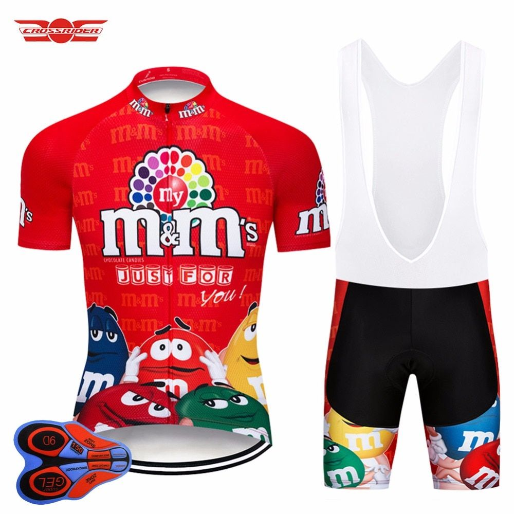 14cc12ca6 Crossrider 2018 Cycling Jersey Set Breathable Mountain Bicycle Clothing  Bike Wear Clothes Men 9D Gel Short Maillot Culotte