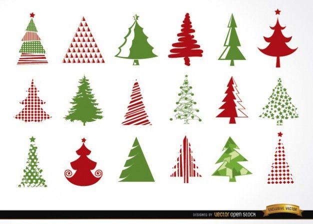 Weihnachtsbaum-Set | Adventszeit | Pinterest