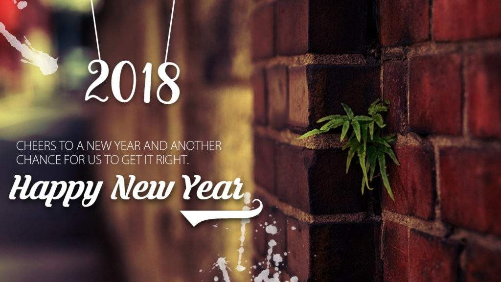 happy new year 2018 status for social media new year posts
