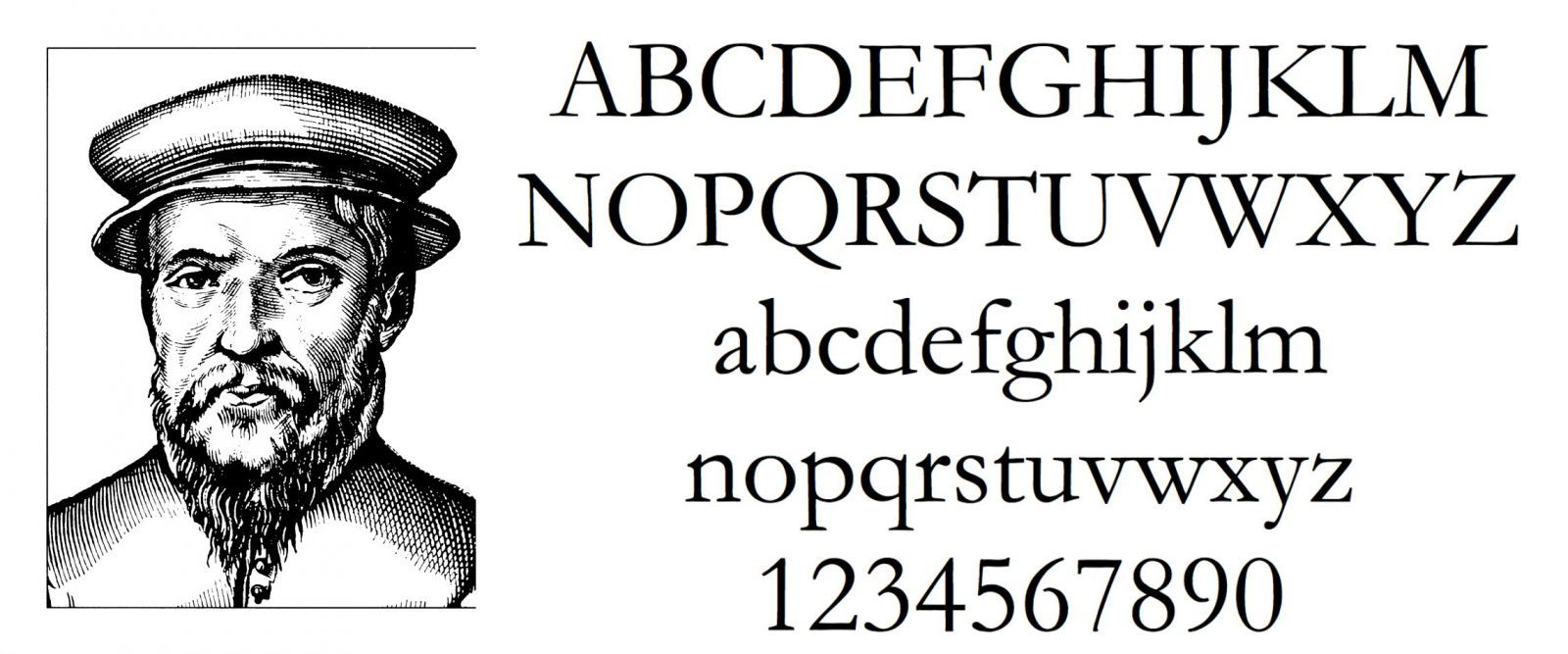 Claude Garamond 1480 1561 Font Names History Design Claude