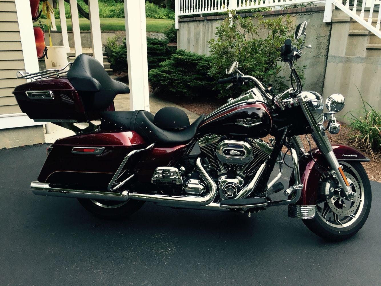 With Screamin\' Eagle 103ci big bore kit,1999 Harley-Davidson FLHR ...