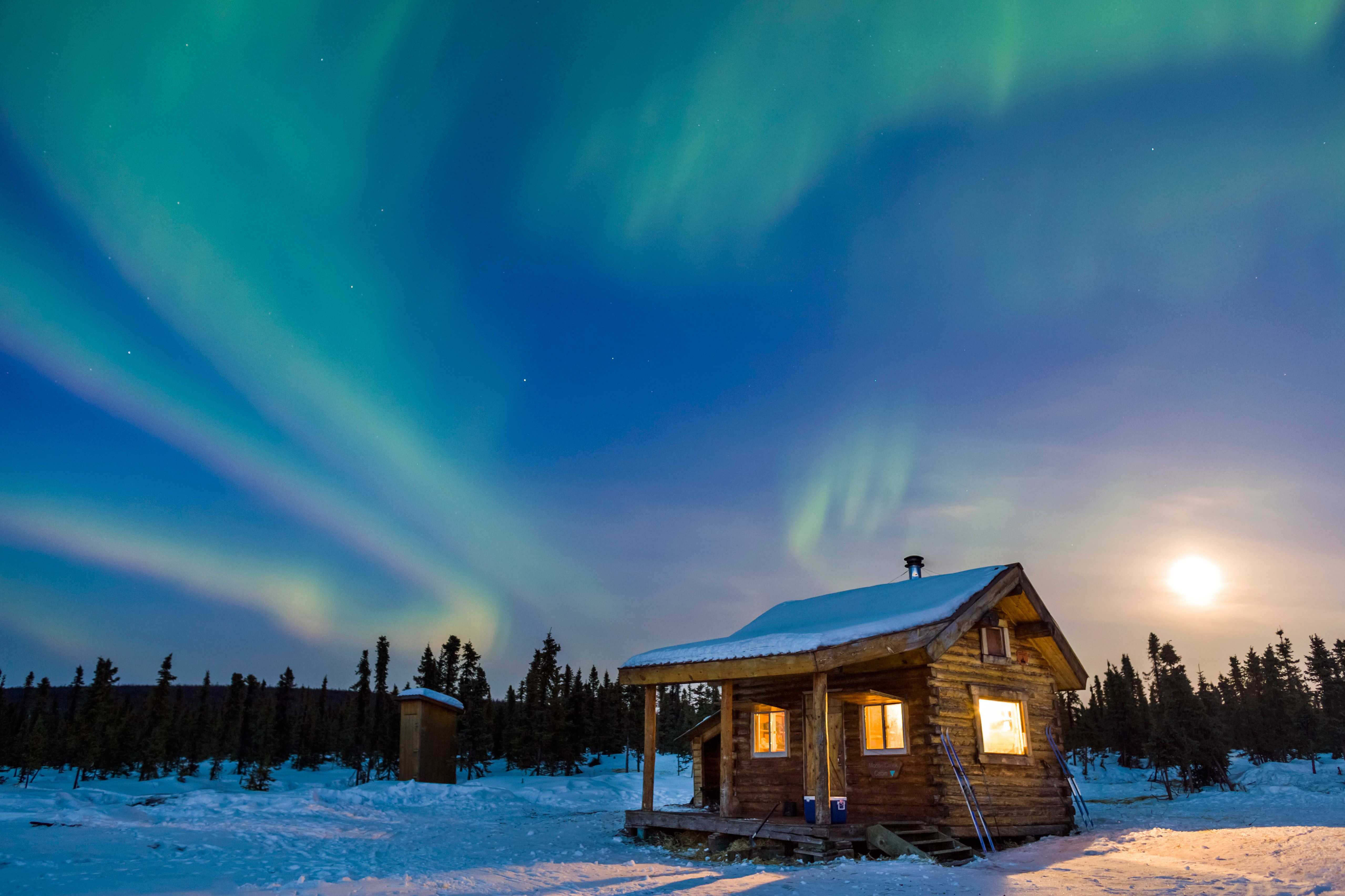 Real northern lights alaska rental homes anchorage for Home builders anchorage ak