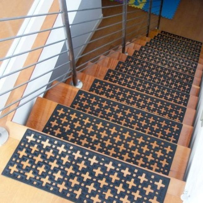 A Notably Absorbing Range Of Ravishing Indoor Stair Mats: Stair Treads Mats  ~ Latricedesigns.