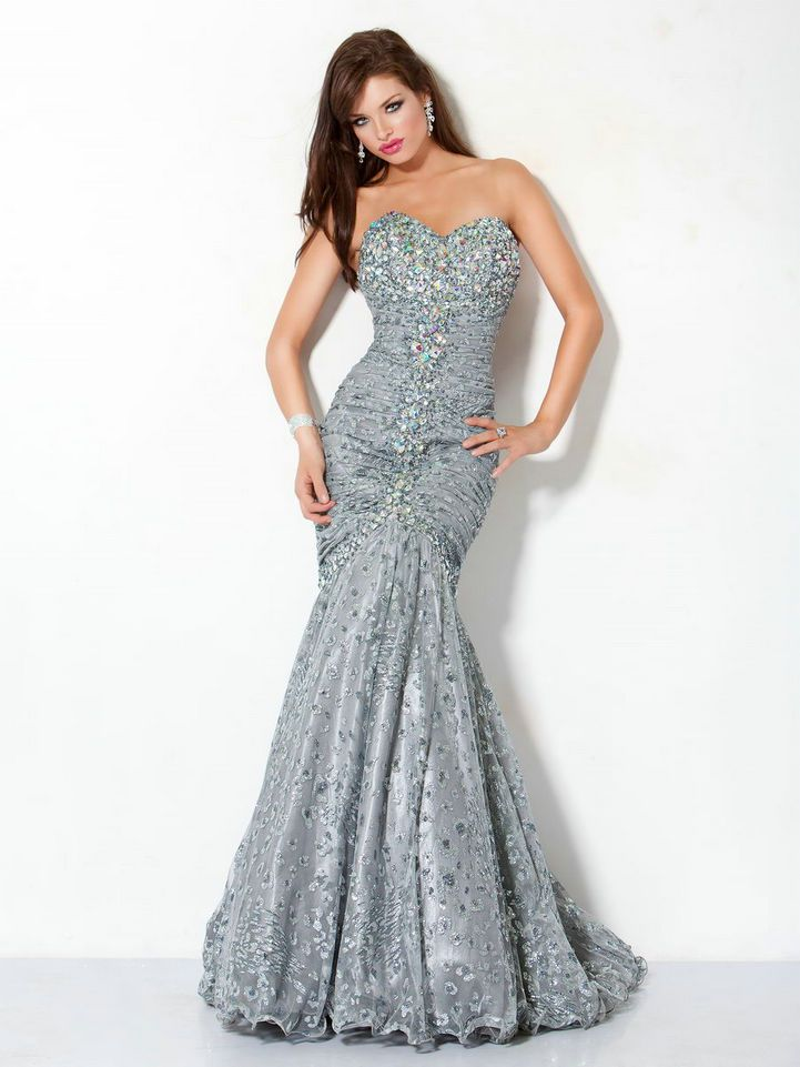 Grwy bedazzled prom dress Mermaid | ~ p r o m 2 0 1 4 ~ | Pinterest