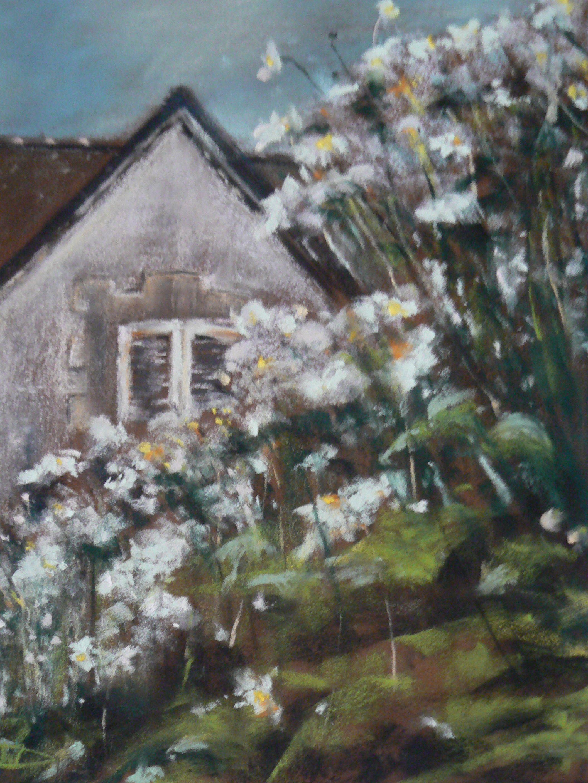 Maison Saint Cast Par Isabelle Douzamy Artiste Peintre Pastel Sec