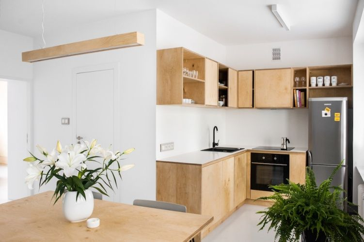 Meble Ze Sklejki  Ekstra  Cocina  Pinterest  Interiors And Pleasing Kitchen Design For Flats Design Inspiration