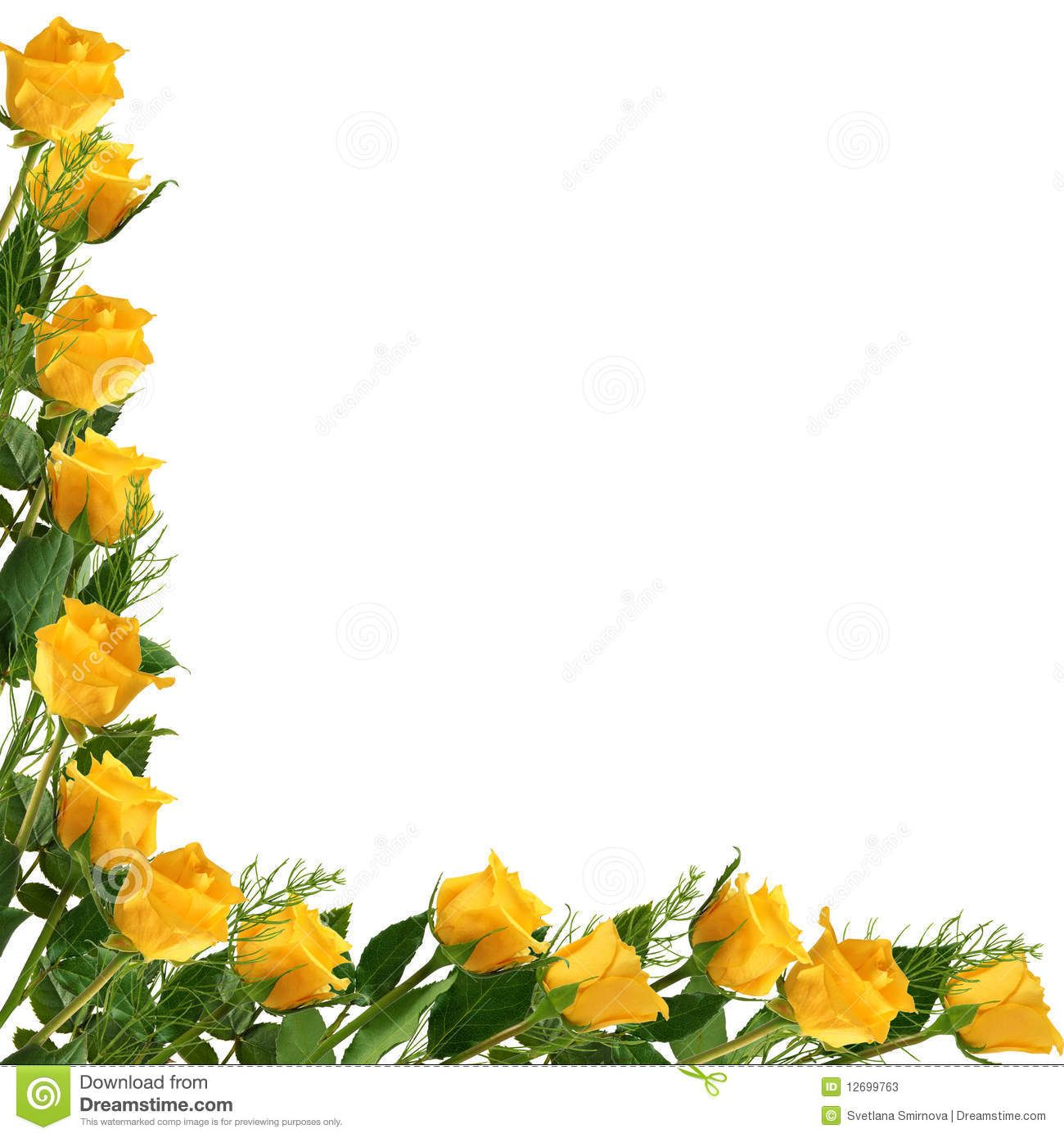 36+ Free yellow rose clipart info