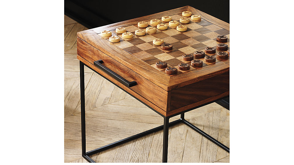 Room Of The Week Chess Table Chess Board Table Modern Table Runners