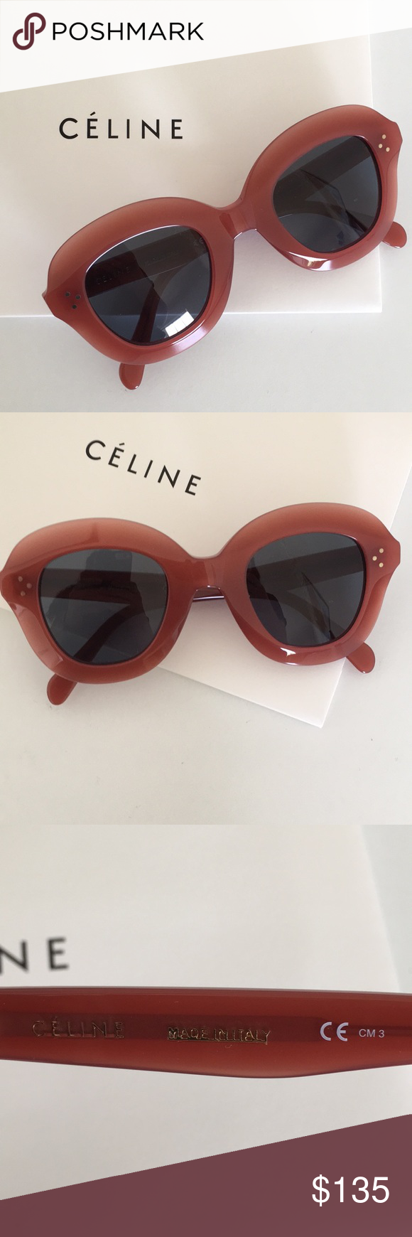9bd11d0e9282 Spotted while shopping on Poshmark  Pink Céline Sunglasses!  poshmark   fashion  shopping  style  Celine  Accessories