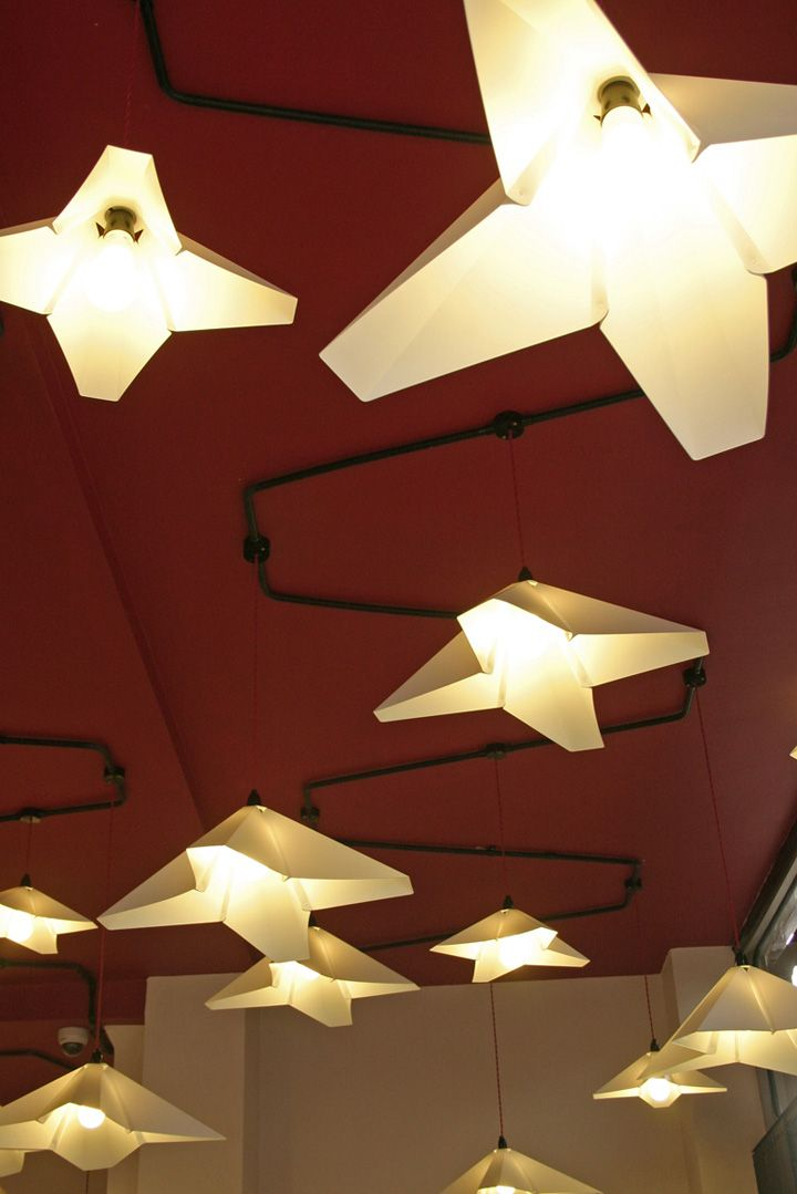 Artisan Coffee interior & furniture by Liquidesign , London
