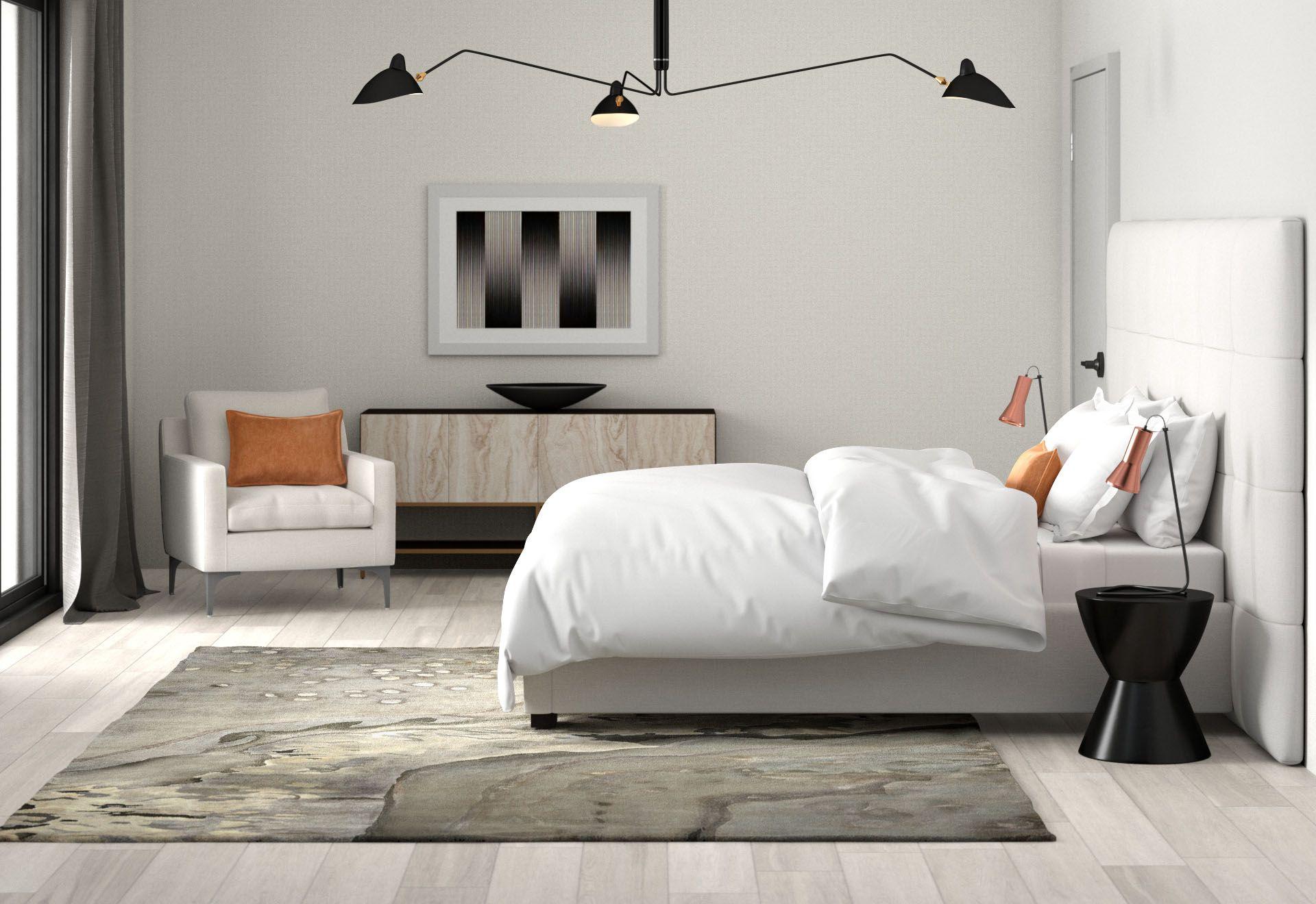 Shop This Modern Bedroom Design Itsallmodern In 2019 Modern Bedroom Design Modern Bedroom Bed