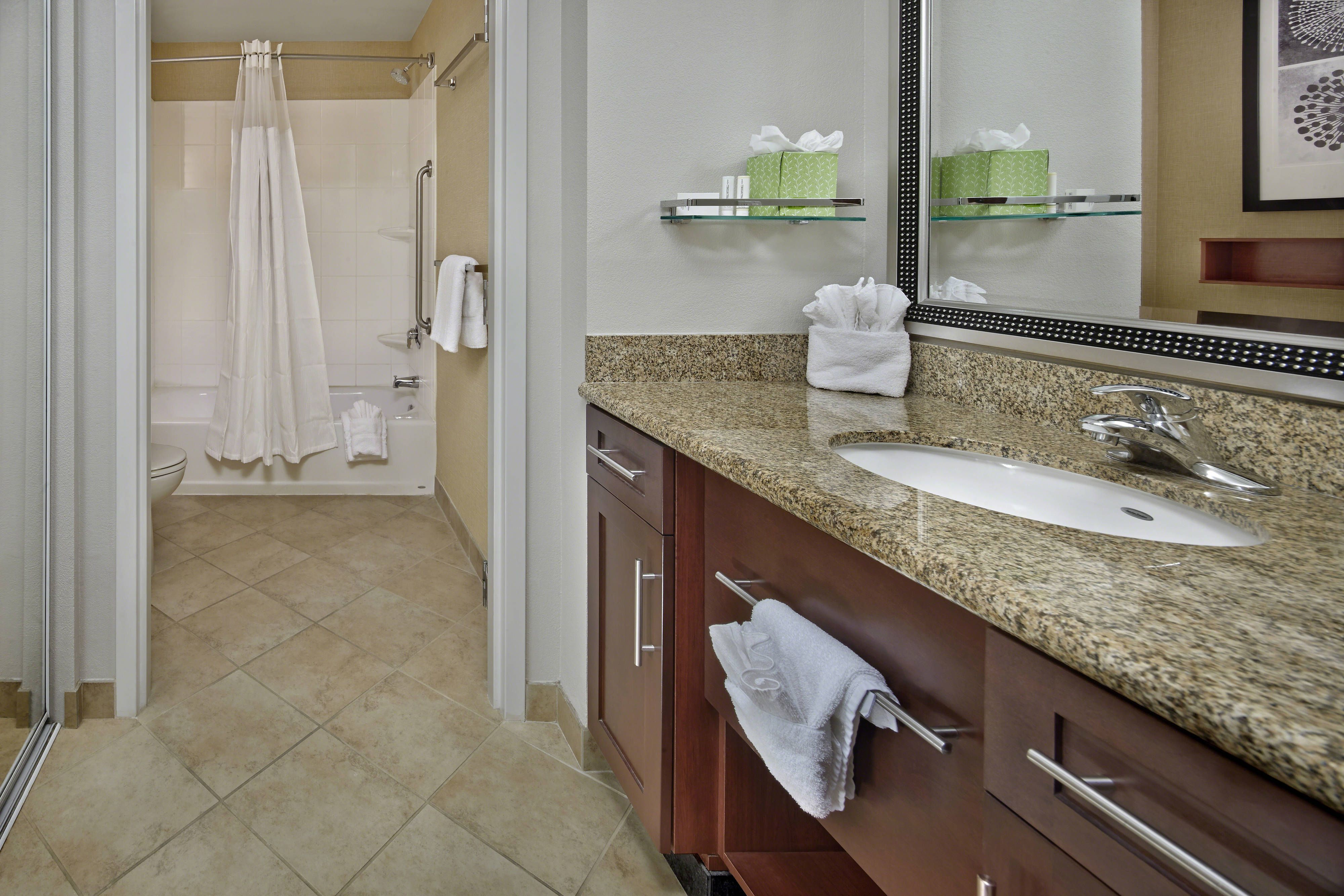 Residence Inn Orlando Lake Mary Suite Bathroom #guestRoom ...
