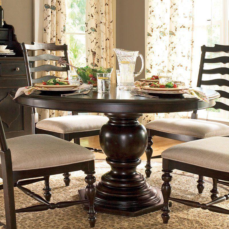 Paula Deen Home Pedestal Dining Table Tobacco Round Pedestal Dining Table Pedestal Dining Table Round Pedestal Dining