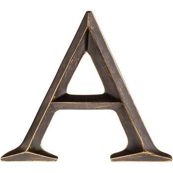 """A 12 """"Polystone Carta de bronce"""