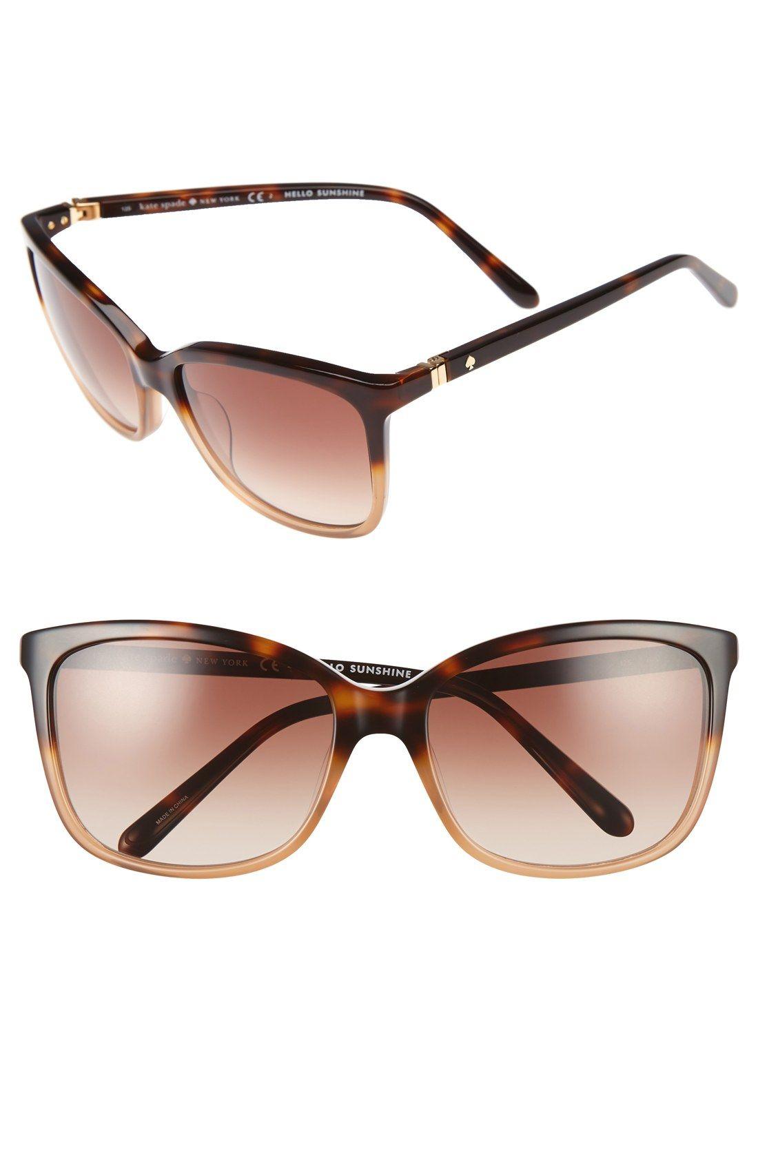 f7560ea284 kate spade new york kasie 55mm cat eye sunglasses