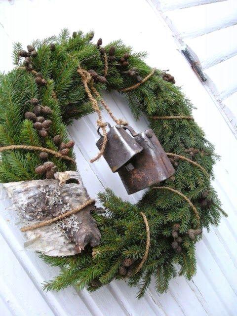Weihnachtskranz #vintageweihnachten