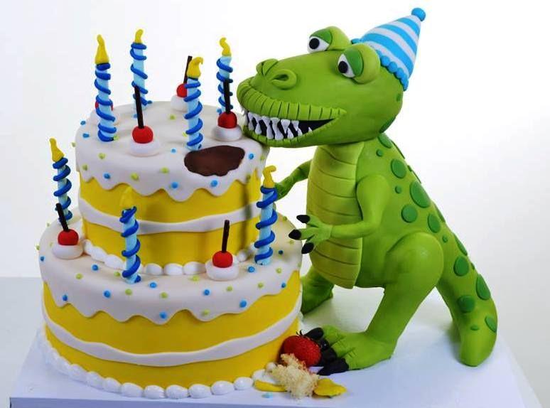 1932 TRex Birthday Party 4th birthday dinosaur themed