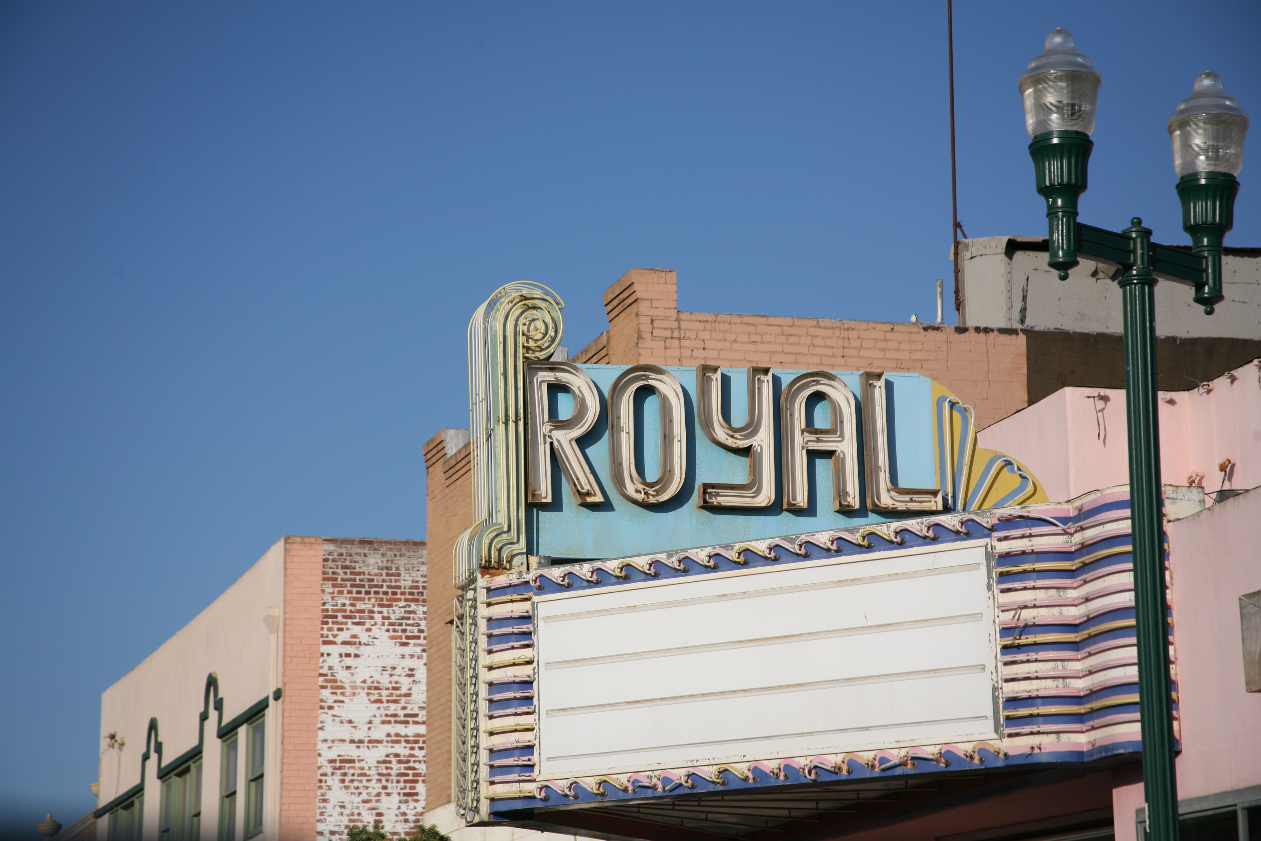 Royal Movie Theater Guadalupe California Santa Barbara County Guadalupe California