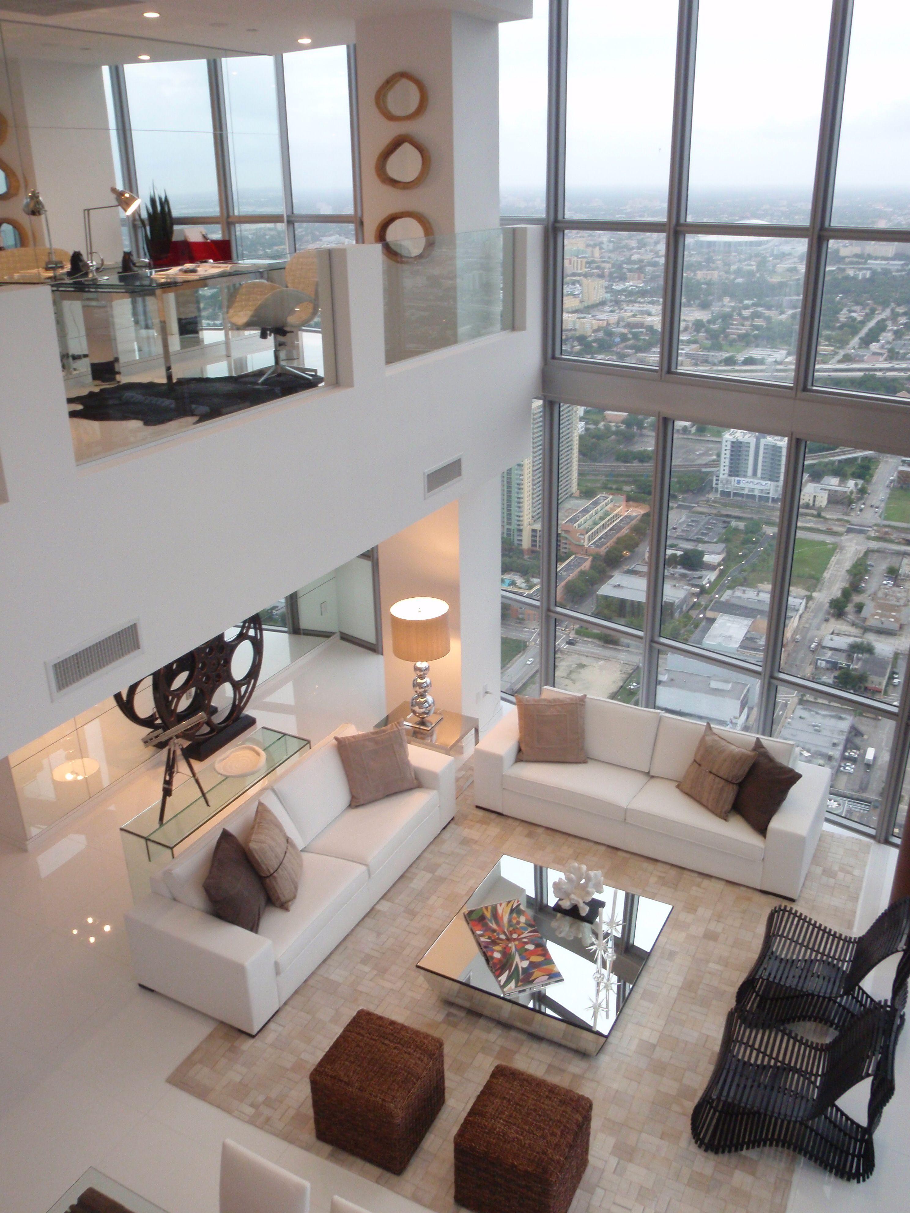 Artefacto marquis penthouse in downtown miami design concept