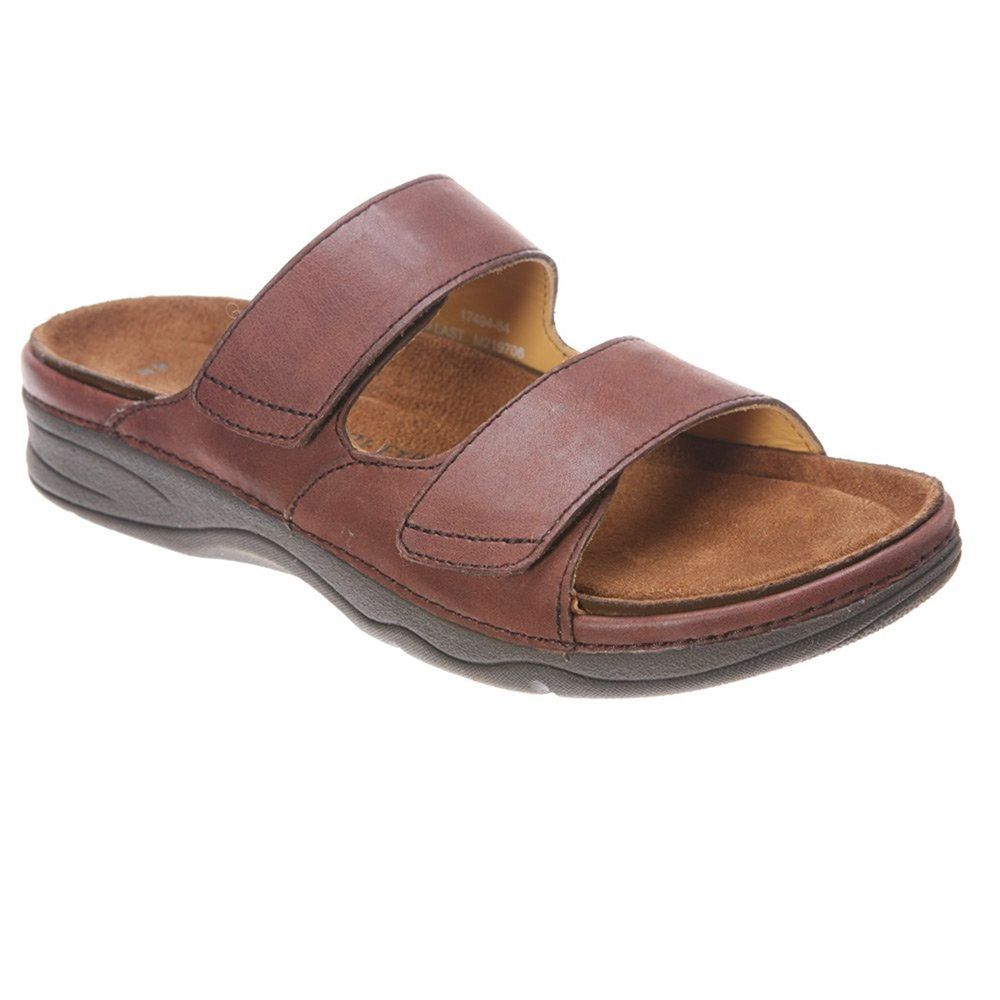 29939ab45 Barefoot Freedom Drew Shoe Milan Womens Leather Sandal Brown Size 7.5 M    125
