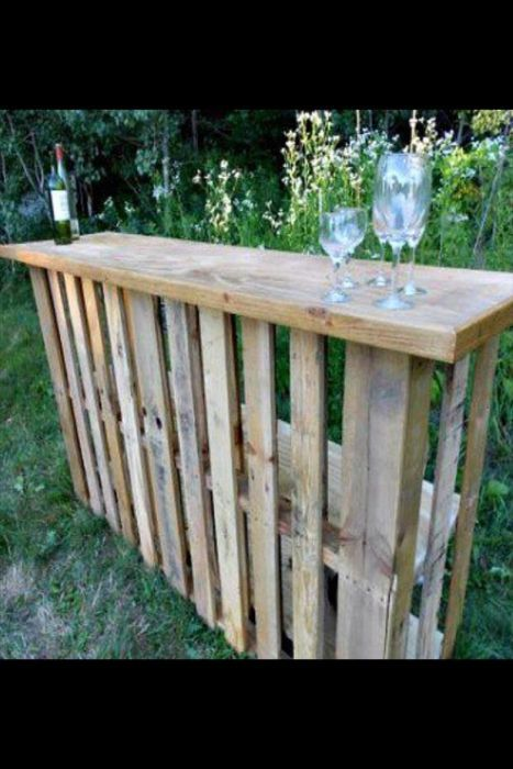 creative_uses_for_old_pallets_58.jpg (467×700)   Déco Mobilier avec ...