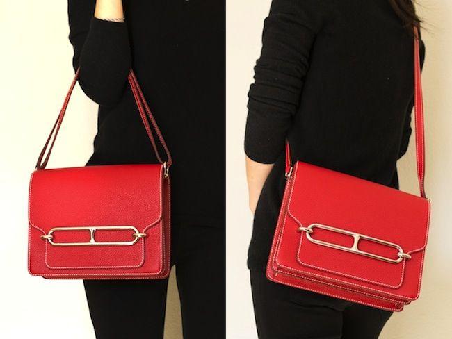 4d70a969e0 Hermes Sac Roulis | Shoulder bag | Hermes bags, Hermes, Bags