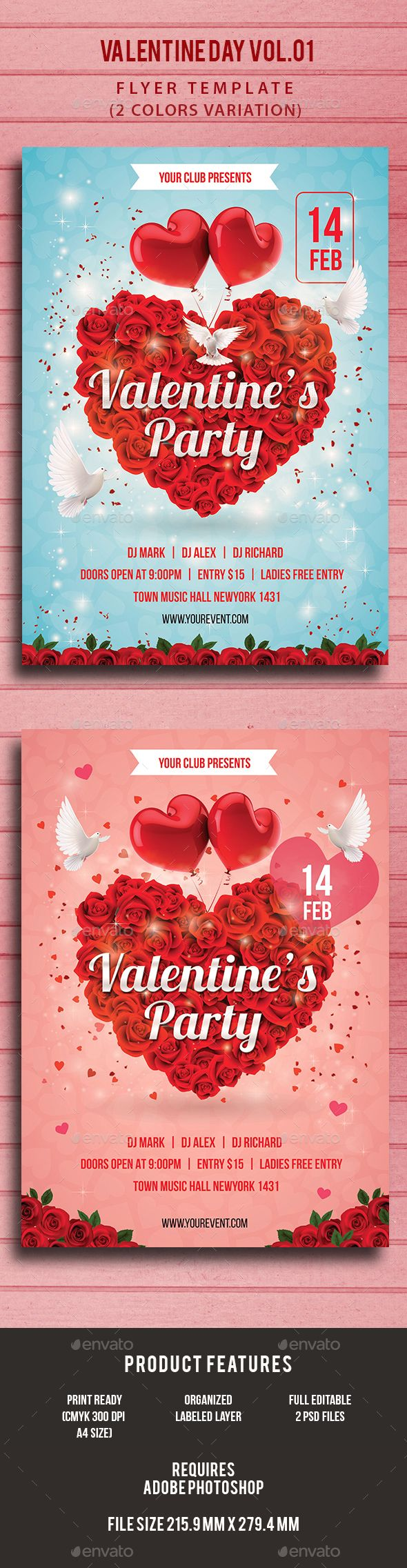 valentine s party dinner flyer valentines flyer template and design valentine day party flyer