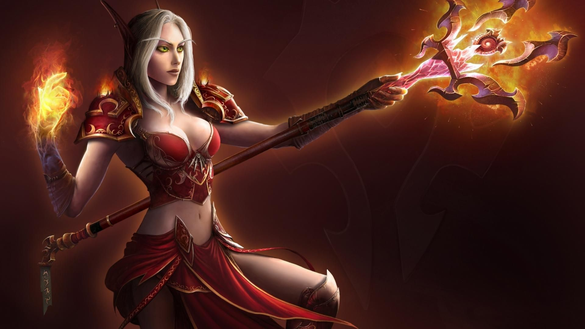 Blood elves girls erotic image